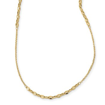 14K Fancy Chain Necklace
