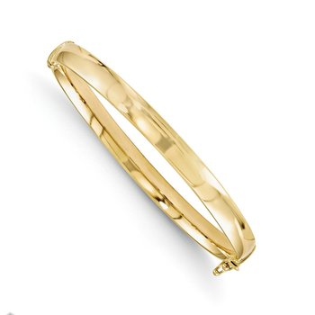 Leslie's 10K Yellow Gold 5.9mm Bangle