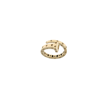 18Kt Gold Chiodo Ring