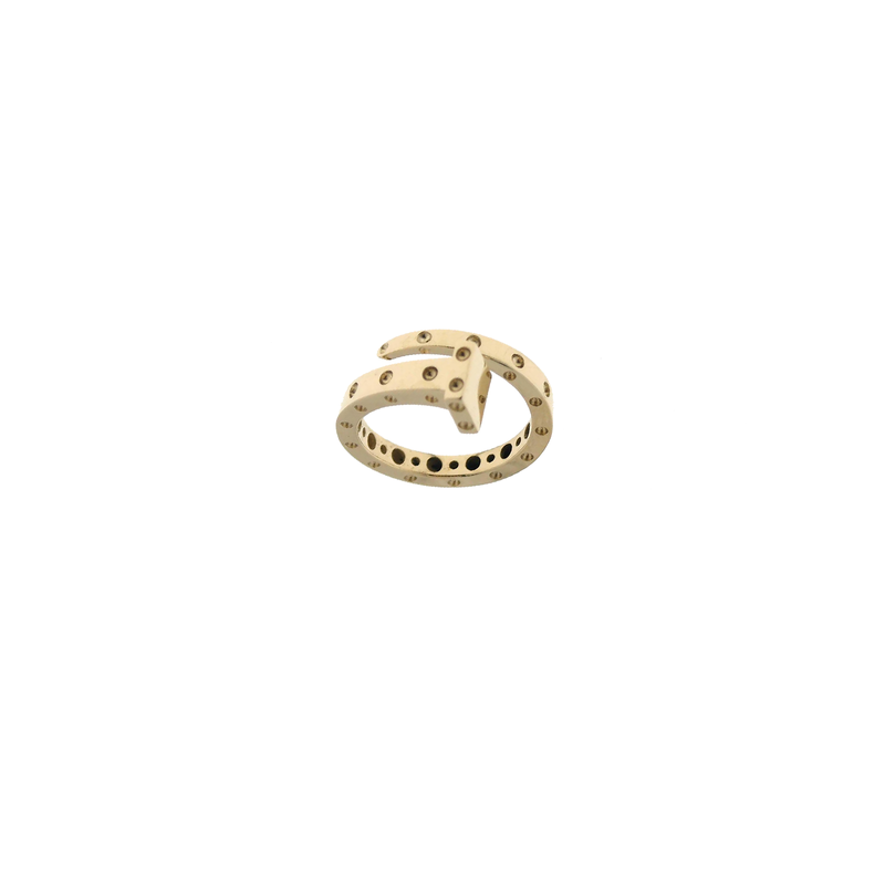 Roberto Coin 18Kt Gold Chiodo Ring