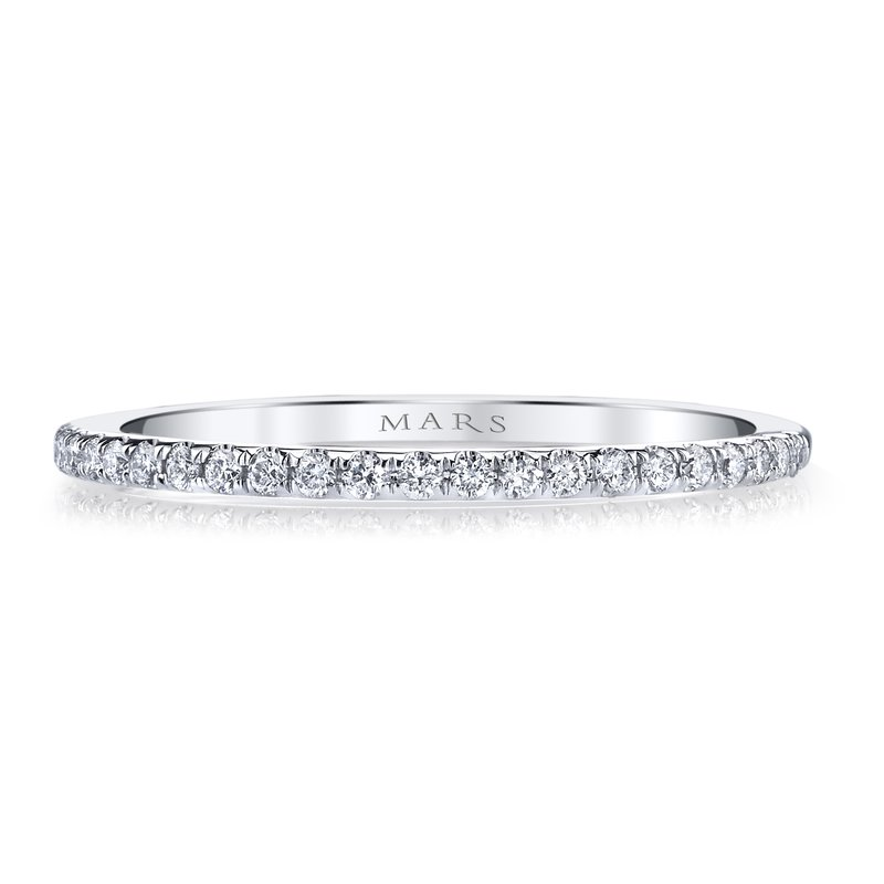 MARS Jewelry MARS 26298 Wedding Band, 0.16 Ctw.