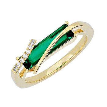 Emerald Ring-CR13121YEM