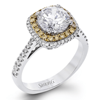 Simon G MR2827 ENGAGEMENT RING