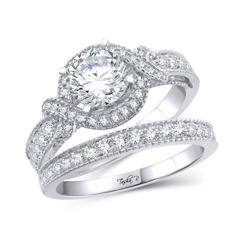 14K 2.51Ct Diam Semi Mount Ring
