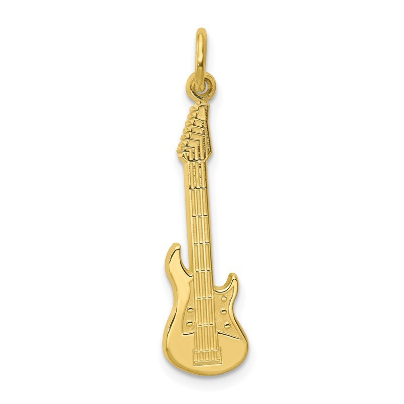 Quality Gold 10k Guitar Charm