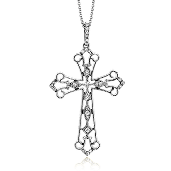 ZP761 CROSS PENDANT