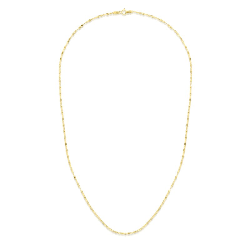 Royal Chain 14K Gold 1.7mm Sparkle Valentino Chain