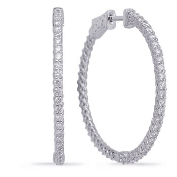 1.35 Inch Securehinge Hoop EarrIng