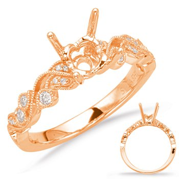 Rose Gold Enagement Ring