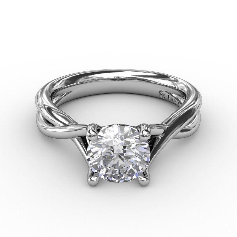 Fana Infinity Solitaire Engagement Ring