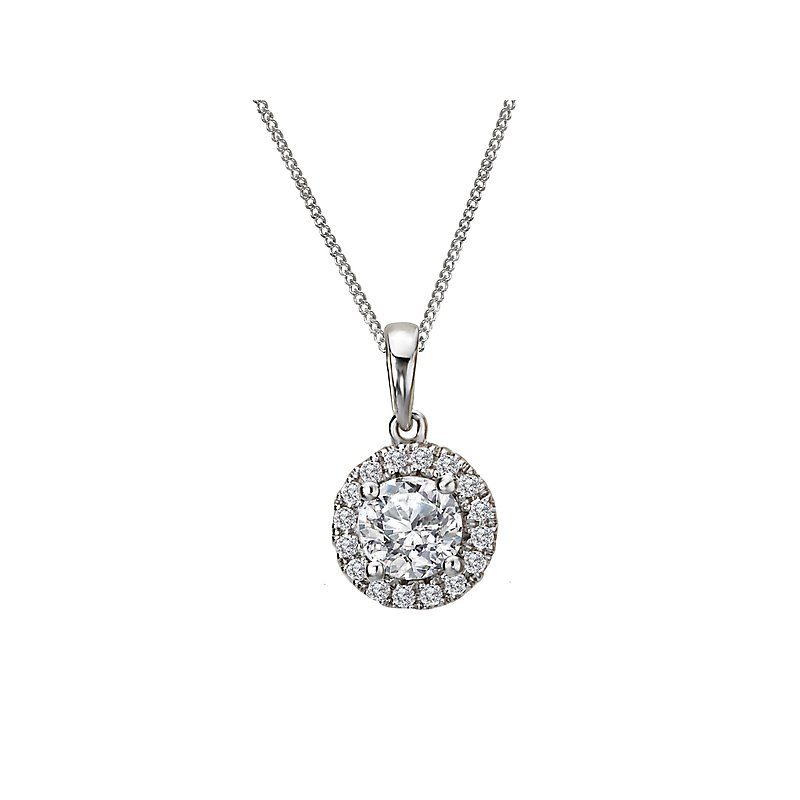 Tesoro Ladies Fashion Diamond Pendant