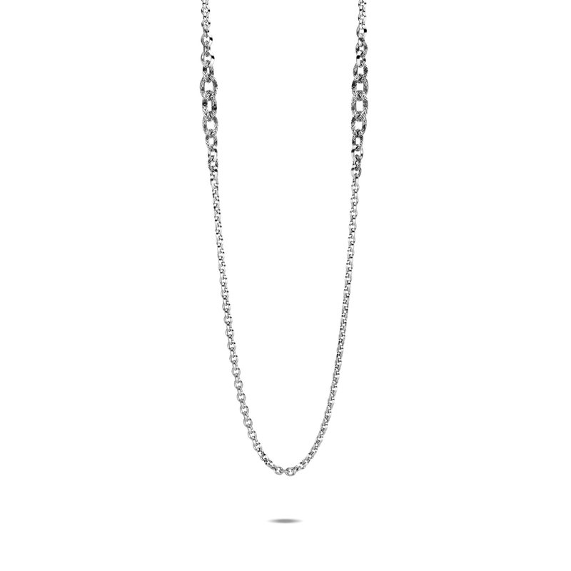 JOHN HARDY Classic Chain Knife Edge Long Necklace in Silver