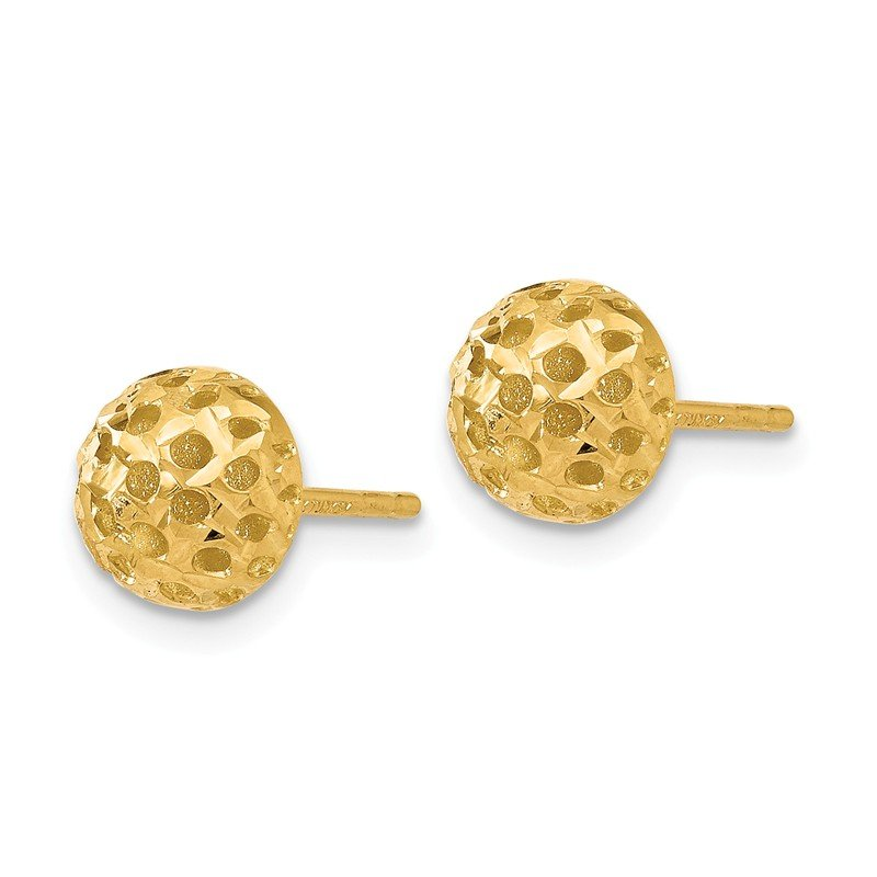 Leslie's Leslie's 14K Polished Post Earrings