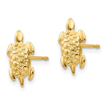 14k Madi K Turtle Post Earrings