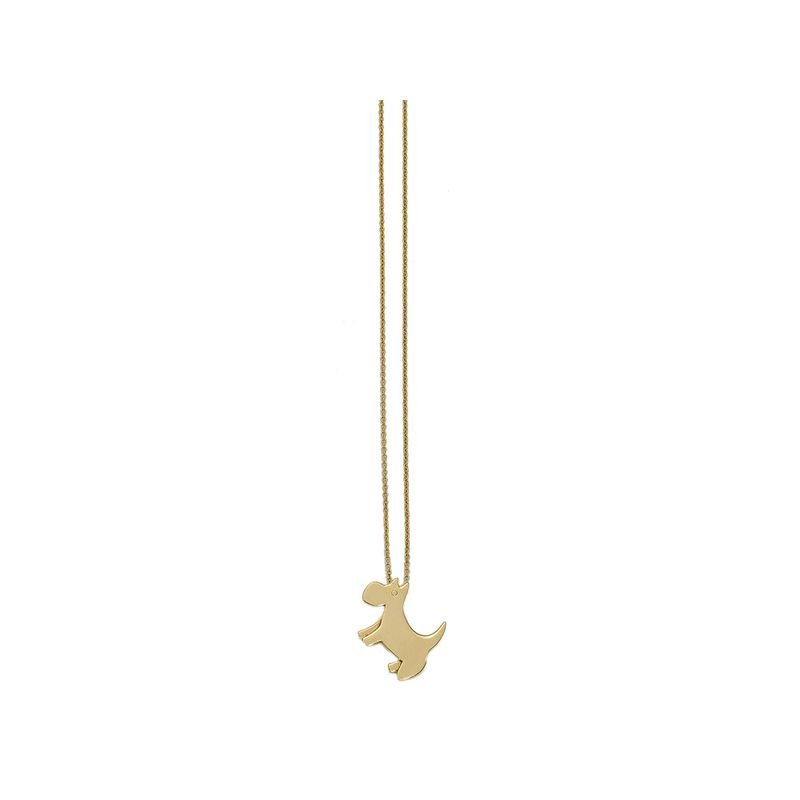 Roberto Coin 18Kt Gold Dog Pendant
