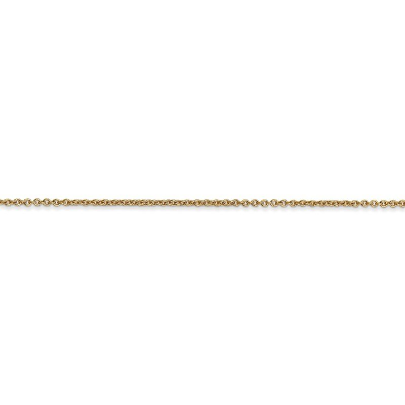 Quality Gold 14k 1.2mm Cable Chain