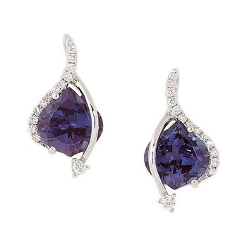 Alexandrite Earrings-CE3080WAL