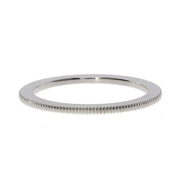 White Gold Milgrain Spacer