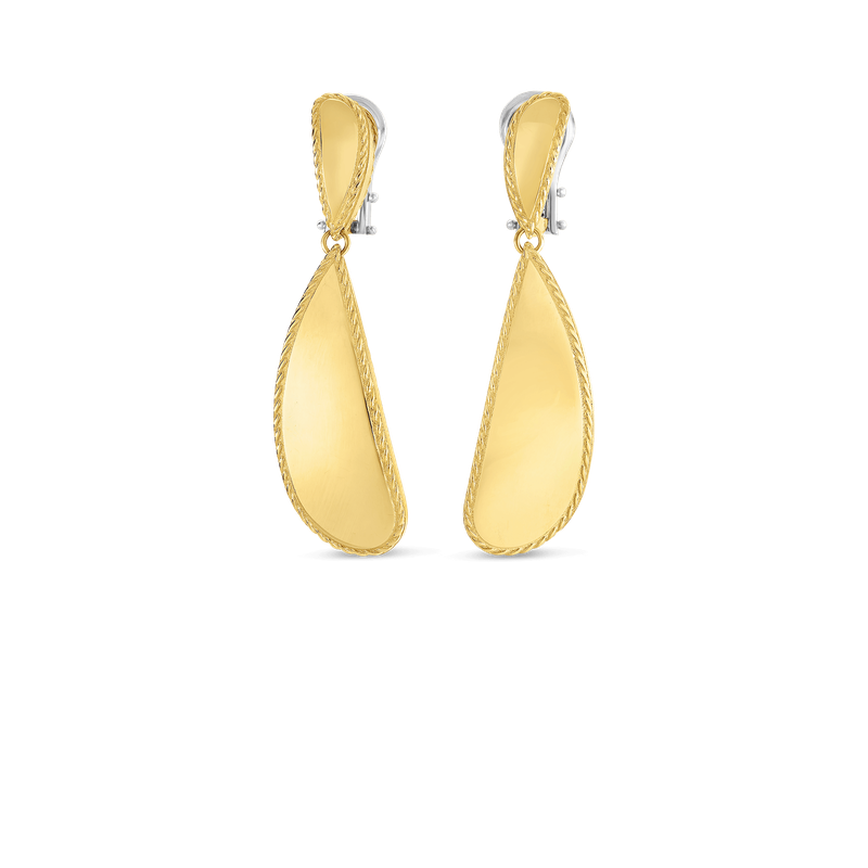 Roberto Coin Gourmette Drop Earrings