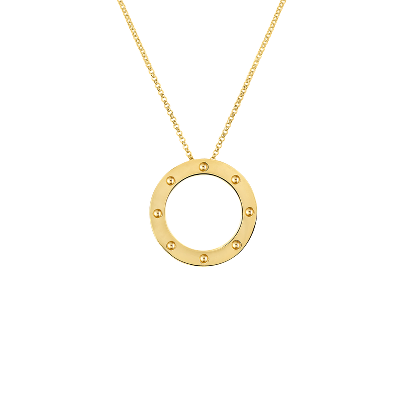 Roberto Coin 18KT GOLD CIRCLE PENDANT