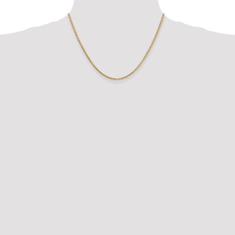 Quality Gold 10k 1.9mm Box Chain