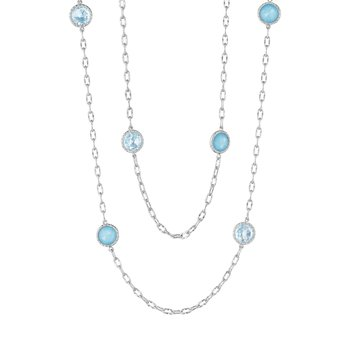 "38"" Raindrops Necklace featuring Assorted Gemstones"