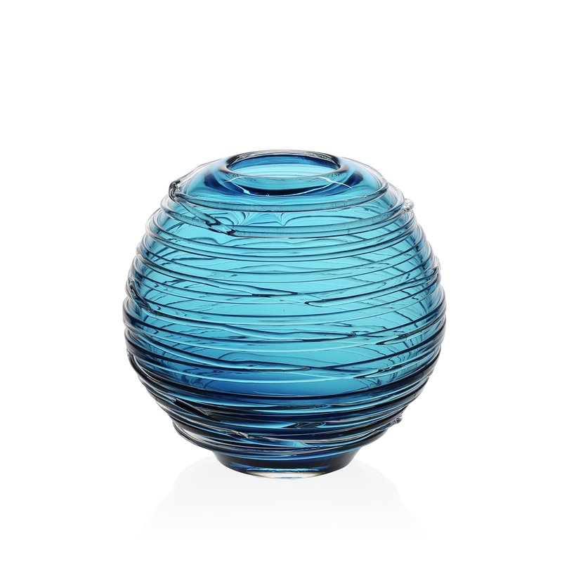 David Harvey Jewelers William Yeoward Sophie Vase New Aqua 6