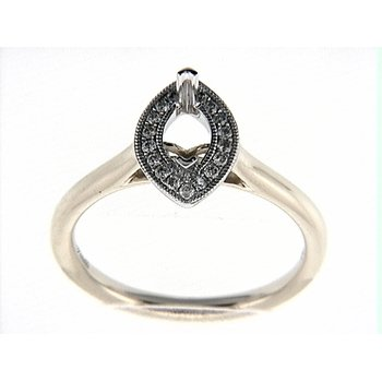 14K WY RING 18RD 0.12CT