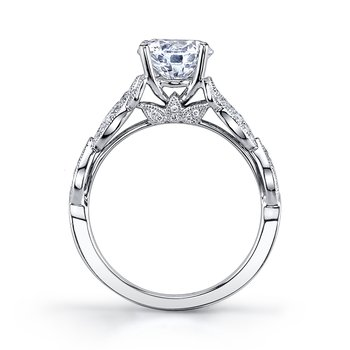 MARS 26441 Diamond Engagement Ring 0.26 Ctw.