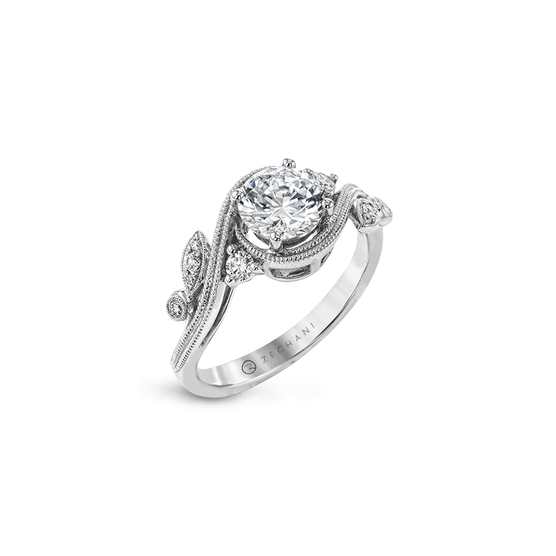 Zeghani ZR1470 ENGAGEMENT RING
