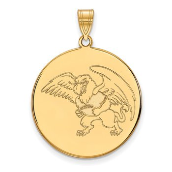 Gold Missouri Western State University NCAA Pendant