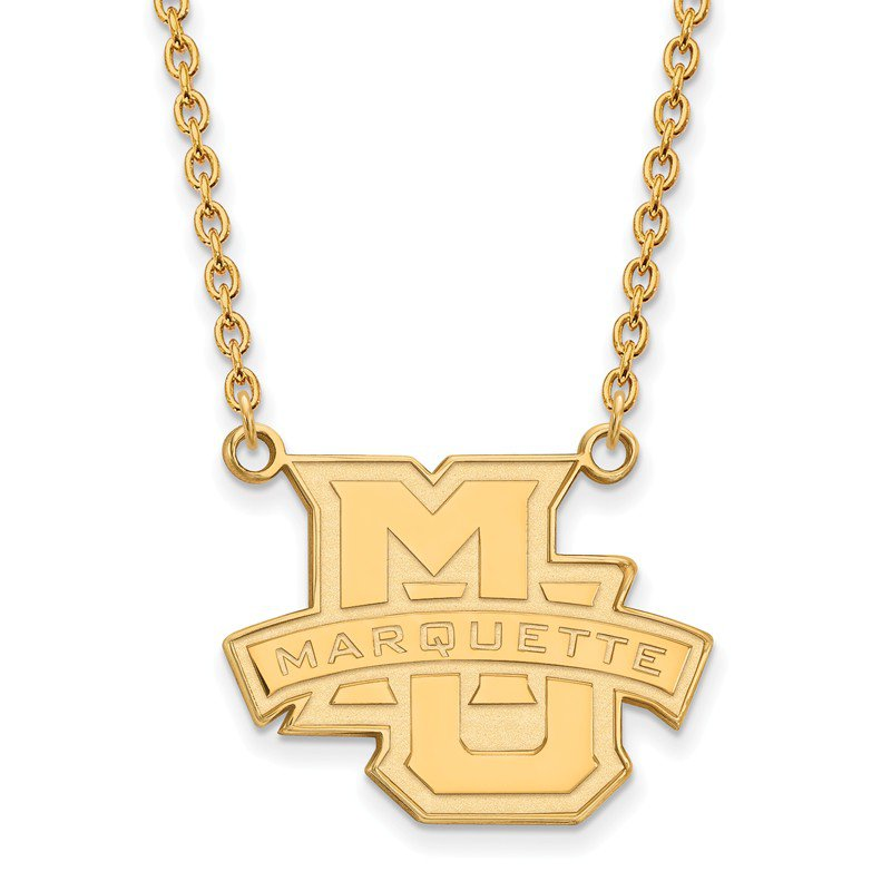 NCAA Gold Marquette University NCAA Necklace