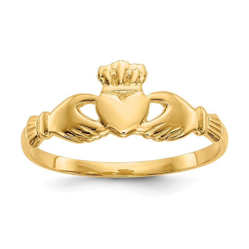 Quality Gold 14k Claddagh Ring