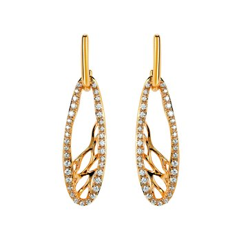 Earrings Rd V 0.38