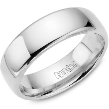 CrownRing Men's Wedding Band TDS14W7
