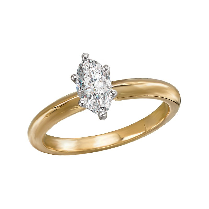 LaVie Solitaire Diamond Engagement Ring