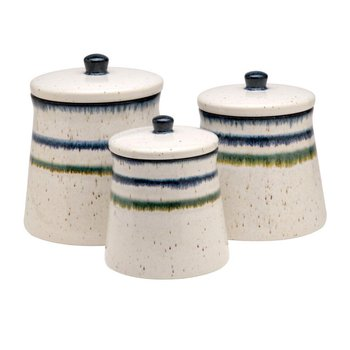 Canisters Set/3, White
