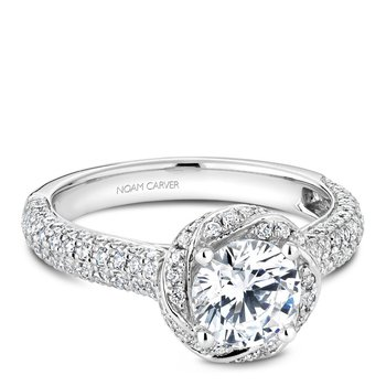 Noam Carver Vintage Engagement Ring B164-01A