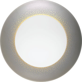 Eclispe grey lge dinner plate