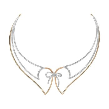 Diamond Fashion Necklace - FDNK1271RW