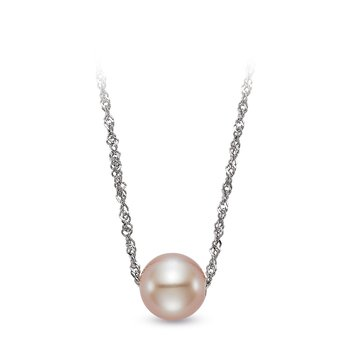 Floating Pink Pearl Pendant