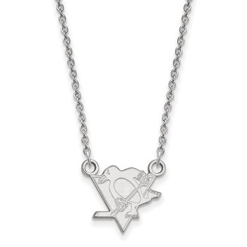 Gold Pittsburgh Penguins NHL Necklace