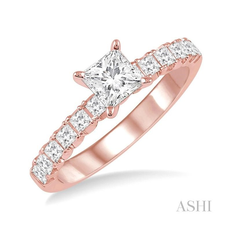 ASHI endless embrace diamond engagement ring