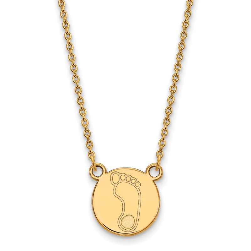 NCAA Gold-Plated Sterling Silver University of North Carolina NCAA Necklace