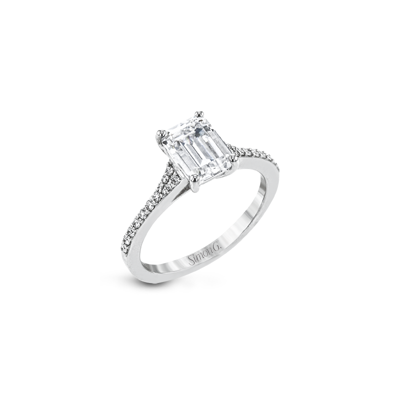 Simon G LR2507 ENGAGEMENT RING