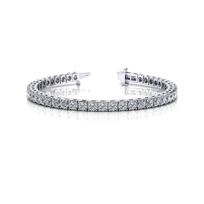 Briana Prong Set Tennis Bracelet