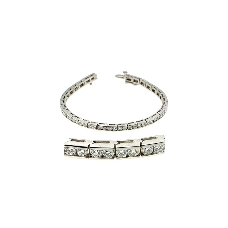 S. Kashi  & Sons Channel Set Bracelet