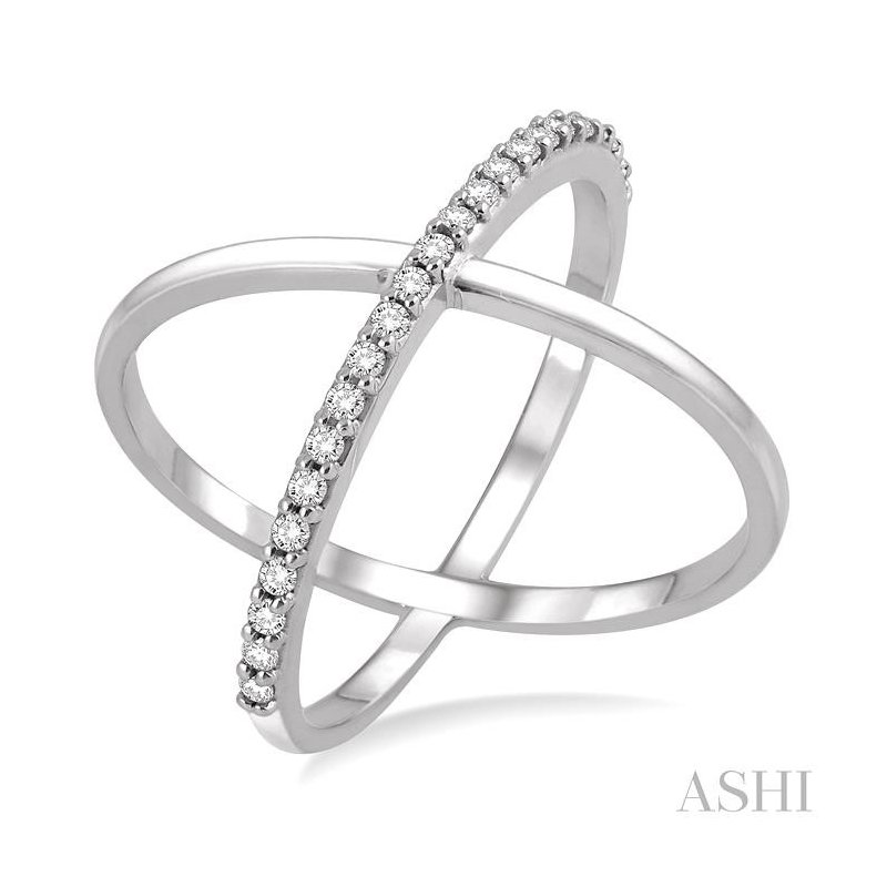 ASHI diamond x ring