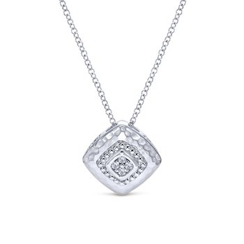 925 Silver Souviens Diamond Necklace