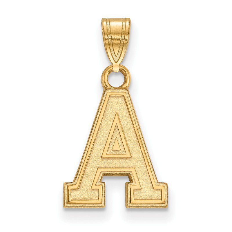 NCAA Gold-Plated Sterling Silver U.S. Military Academy NCAA Pendant